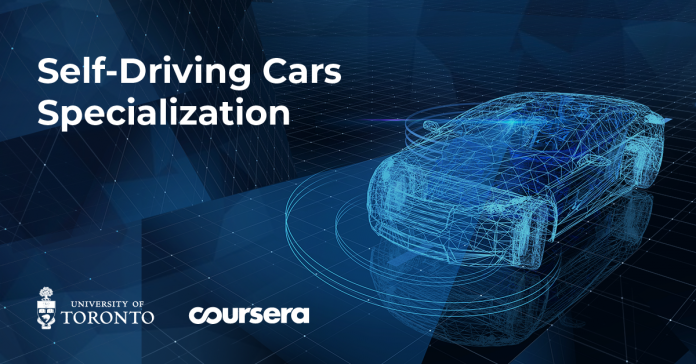 Coursera Partners with University of Toronto to Train the Next Generation of Autonomous Vehicle Engineers