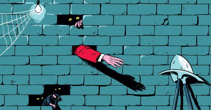 Reaching Through the Wall