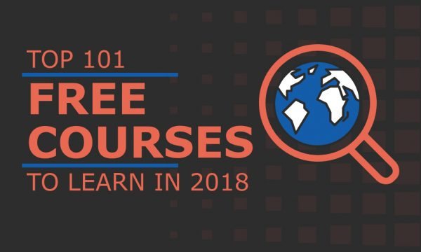 101 Free Online Courses with Certificates in 2018 [Top Rated