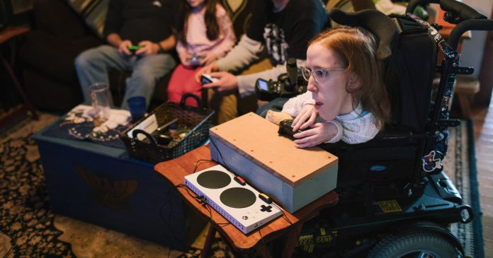 Learning With: 'Adaptive Video Game Controllers Open Worlds for Gamers With Disabilities'