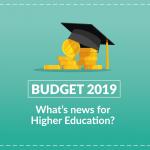 Budget 2019: Higher Ed