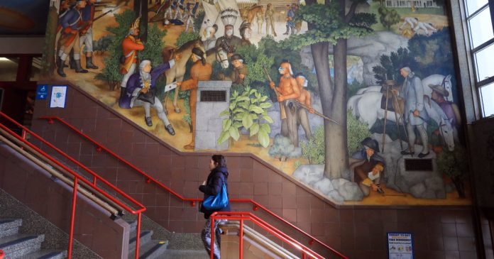 Should School Murals That Depict an Ugly History Be Removed?