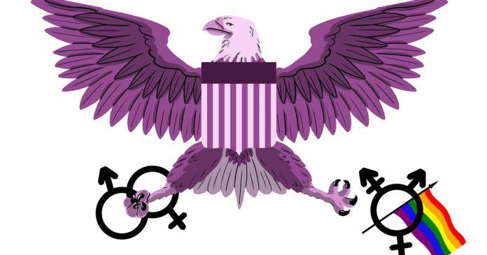 Eagle and Gender Symbols