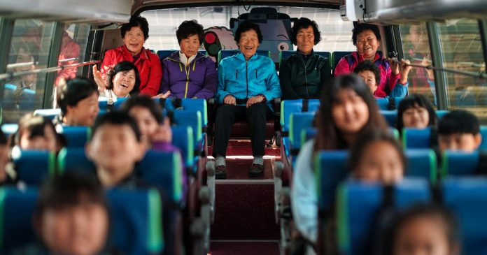 Learning With: 'Running Out of Children, a South Korea School Enrolls Illiterate Grandmothers'