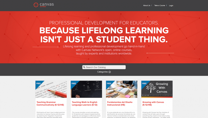 Canvas Network to Focus on Professional Development for Educators