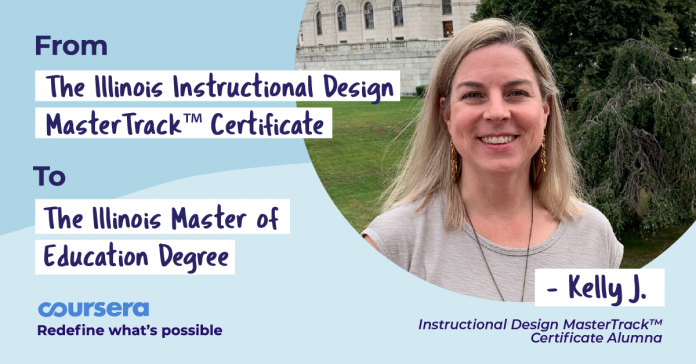 On Track for Success: From a MasterTrack™ Certificate to a Master's Degree