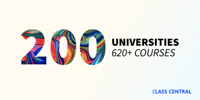 200 universities just launched 620+ free online courses. Here's the full list.