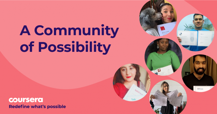 A community of possibility: how you're redefining what's possible