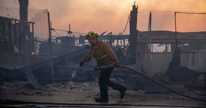 Lesson of the Day: 'With California Ablaze, Firefighters Strain to Keep Up'