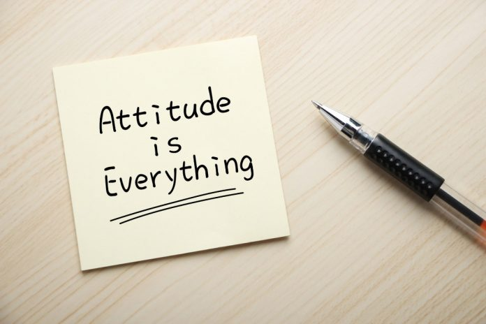 How your attitude defines your life!