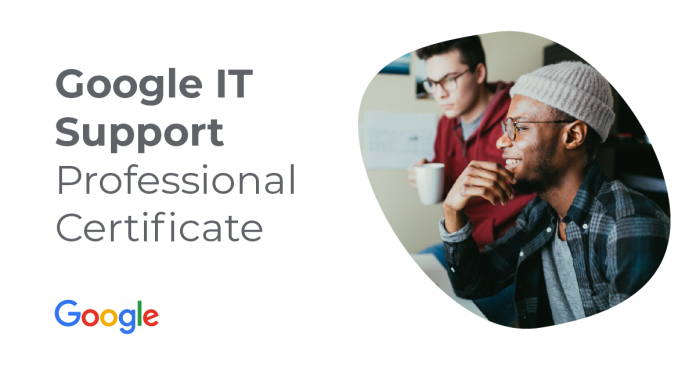 Get ready to launch a career in IT Support with Google and CompTIA