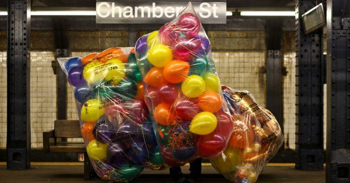 Subway Balloons