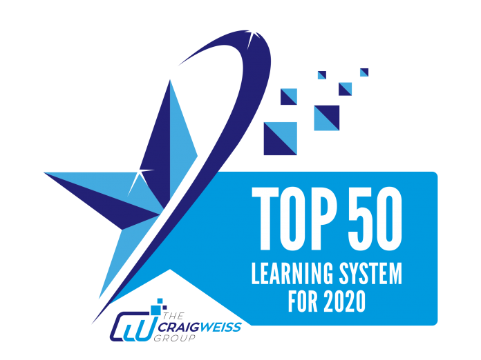 Top 50 Learning Systems for 2020 (Rankings #50 to #40)
