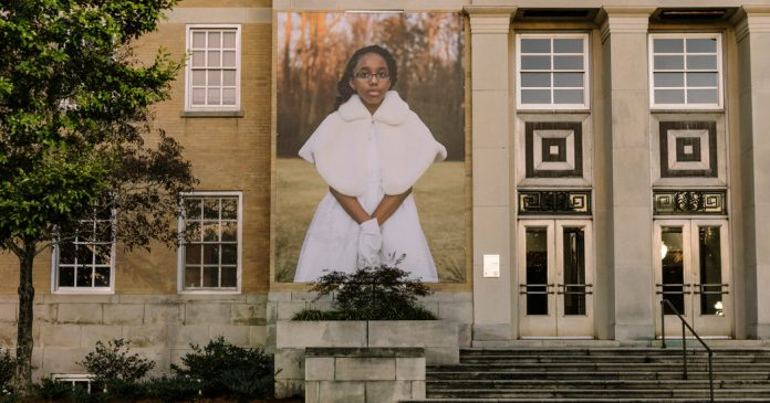 Lesson of the Day: 'How 17 Outsize Portraits Rattled a Small Southern Town'
