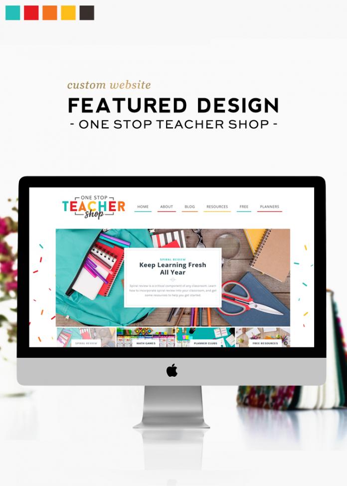 Custom Design Feature | One Stop Teacher Shop