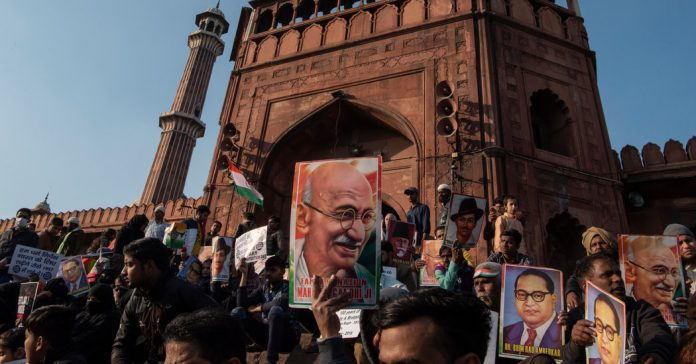 Lesson of the Day: 'In India, Protesters and Modi Tussle Over Who Can Claim Gandhi'
