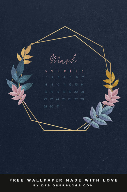 Comment on Free March Wallpaper by Andrea Rennick