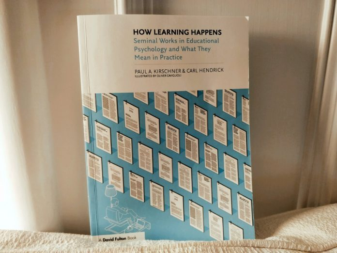 Book Review: How Learning Happens (Kirschner & Hendrick)