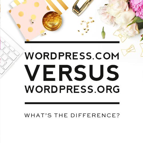 WordPress.com vs. WordPress.org – pros and cons of both platforms