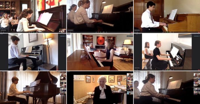 Lesson of the Day: 'A 92-Year-Old Piano Teacher Won't Let Students Miss Bach in the Pandemic'
