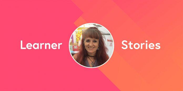 Learner stories –Amanda
