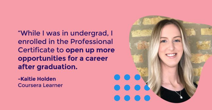 Learn how Kaitie earned her Google IT Support Professional Certificate and landed a new job in IT