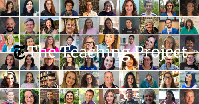 60 Talented Educators Join The New York Times Teaching Project
