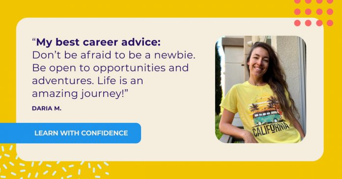 Daria's career journey: from HVAC systems to UX research