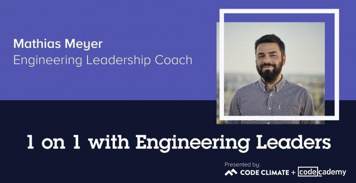 1 on 1 with Engineering Leaders: Engineering Leadership Coach Mathias Meyer