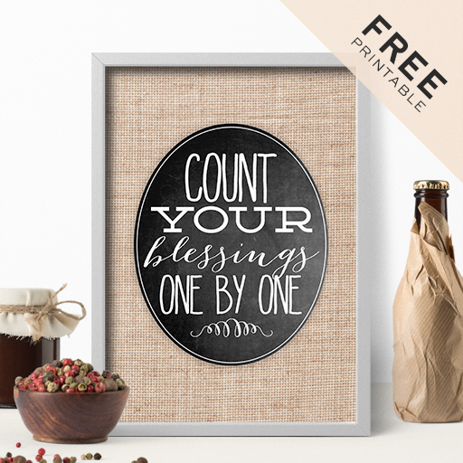 Free Printable Thanksgiving Table Decors That You Can't Miss!