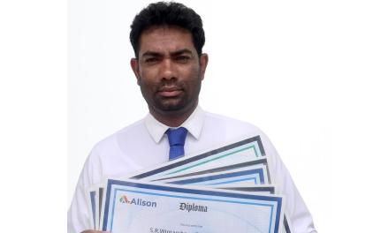 """Wimarshana Senavirathana: """"Alison is the best online learning institute for businessmen around the world."""""""