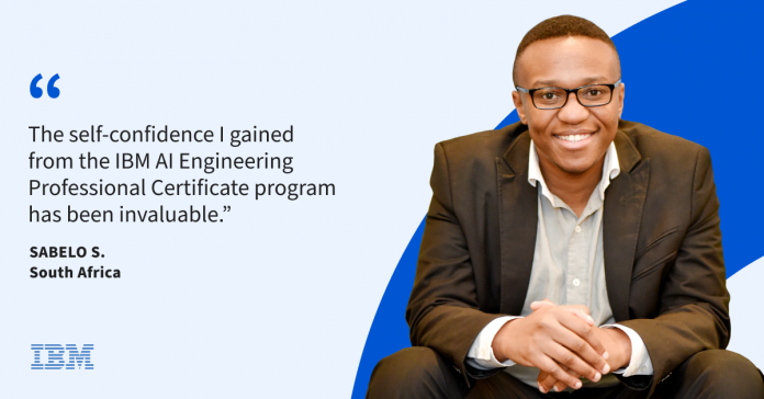 How Sabelo applied lessons from online learning to found his own tech company in South Africa