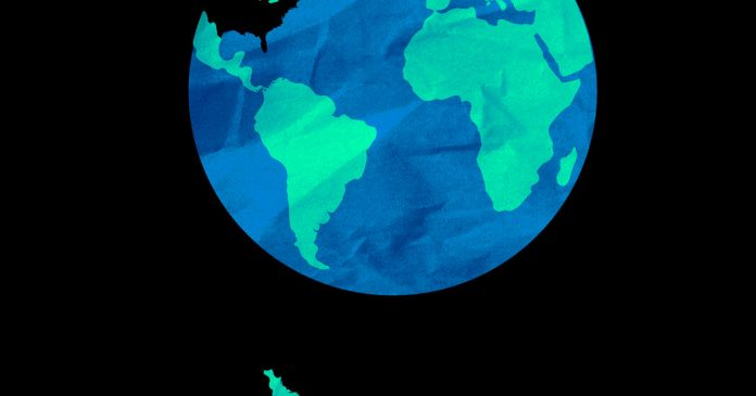 Falling Off the Globe