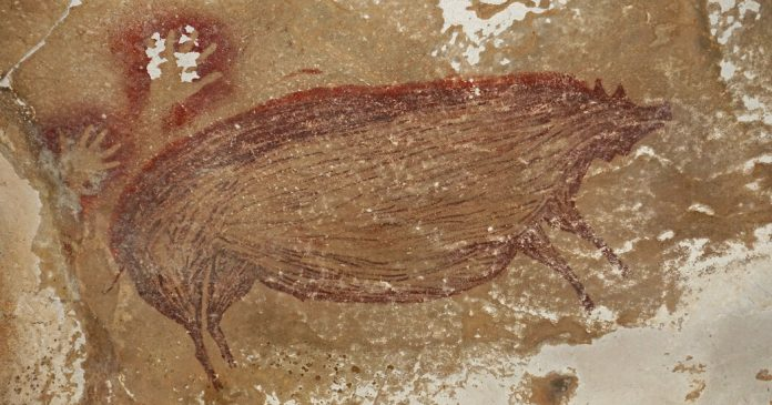 Lesson of the Day: 'Pig Painting May Be World's Oldest Cave Art Yet, Archaeologists Say'
