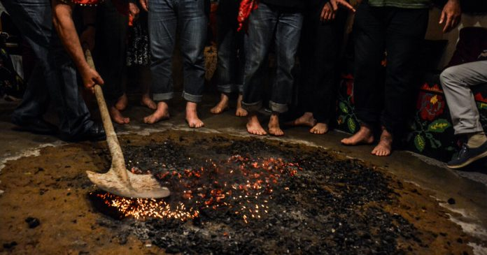 Glimpses of an Ancient Fire-Walking Ritual in Northern Greece