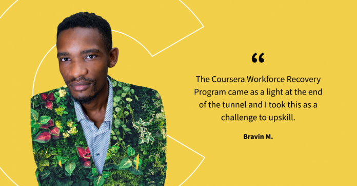 How Bravin took on the challenge to upskill and pave a new career path
