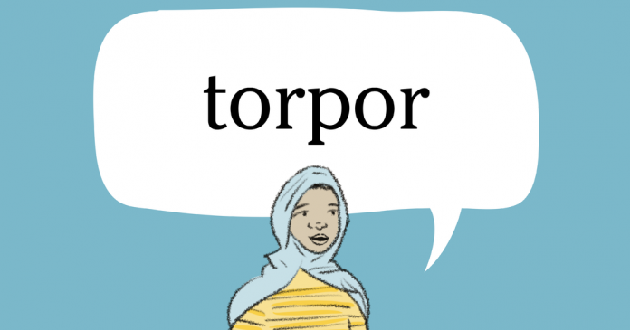 Word + Quiz: torpor
