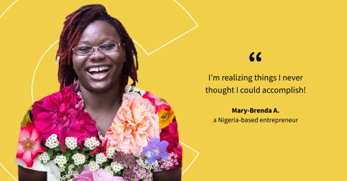 Start-up founder Mary-Brenda shares how learning can empower you to discover a world without limits