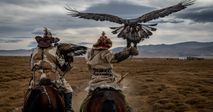 Lesson of the Day: 'On Horseback Among the Eagle Hunters and Herders of the Mongolian Altai'