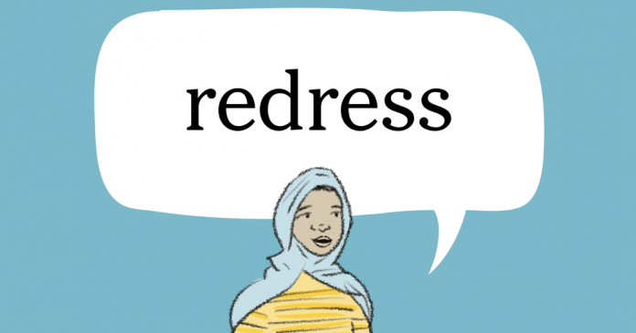 Word of the Day: redress