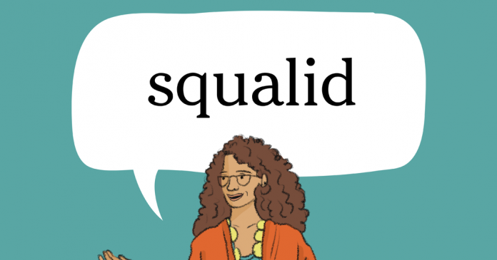 Word of the Day: squalid