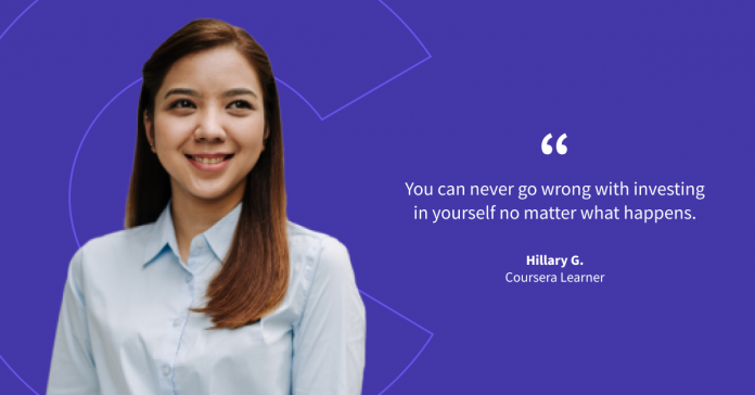 See how marketing professional and aspiring entrepreneur Hillary is taking the next step in her career and business