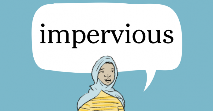 Word of the Day: impervious