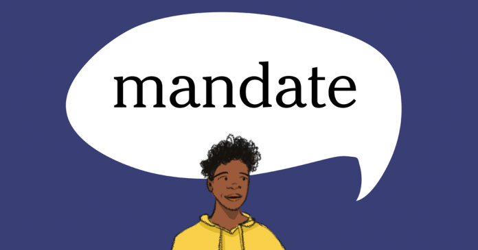 Word of the Day: mandate