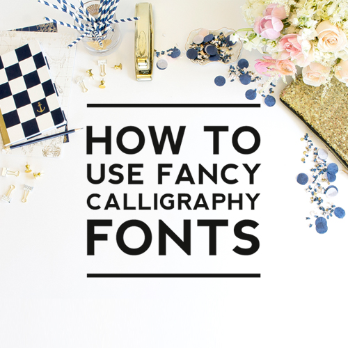 How to Use Font Glyphs – Make Your Text Fancy!