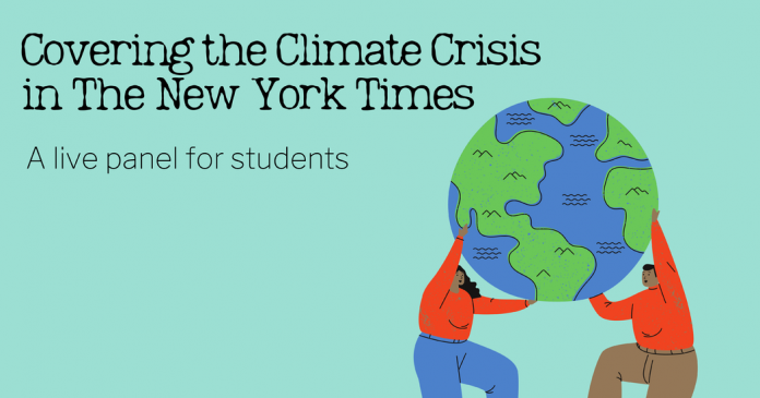 Live Panel for Students: Covering the Climate Crisis