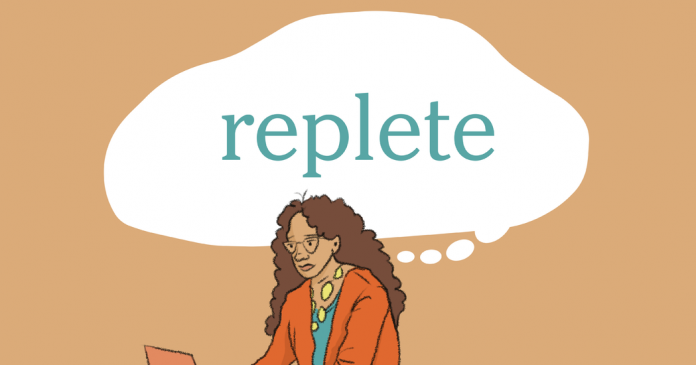 Word of the Day: replete