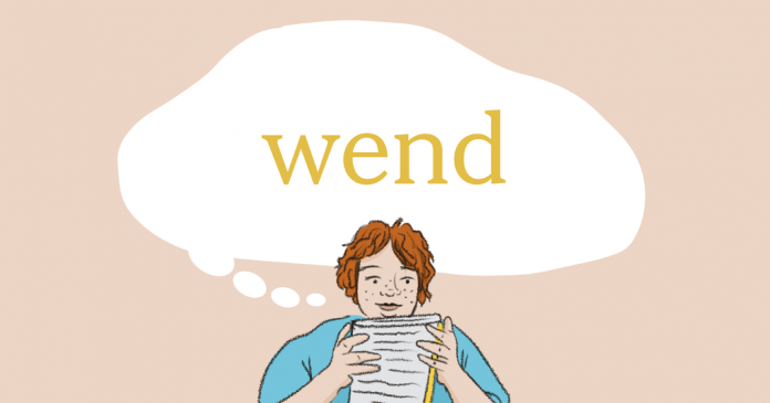 Word of the Day: wend