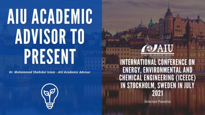 AIU Academic Advisor to present at Engineering and Physical Sciences Research conference.