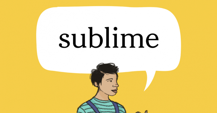 Word of the Day: sublime
